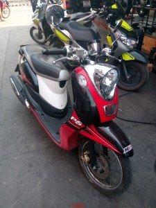 Yamaha 125 cc3